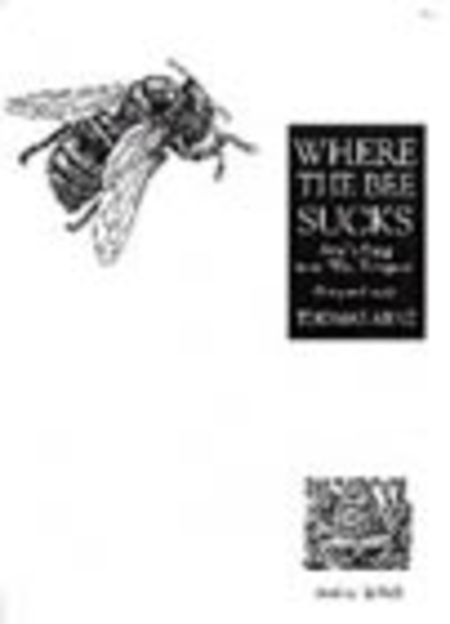 Where the bee sucks (D - G)