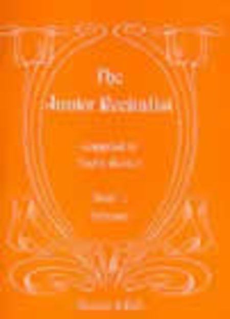The Junior Recitalist - Book 1 (Soprano)