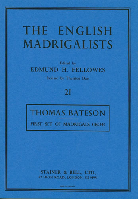 First Set of Madrigals (1604)