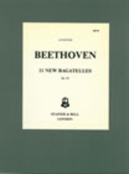 Bagatelles, 11 Op. 119
