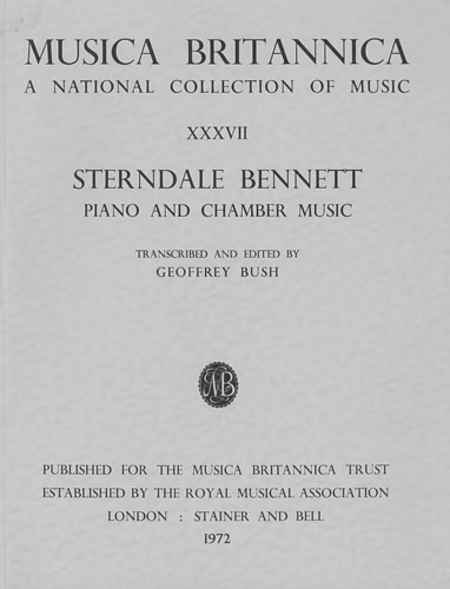 Selected Piano and Chamber Music