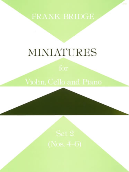 Miniatures for Violin, Cello and Piano - Set 2