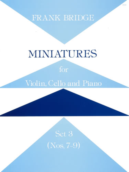 Miniatures for Violin, Cello and Piano - Set 3