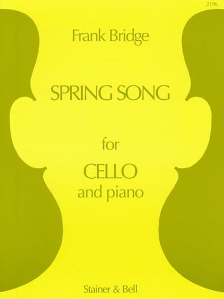 Spring Song Cello and Piano