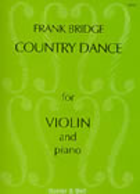 Three Pieces for Violin and Piano, Country Dance