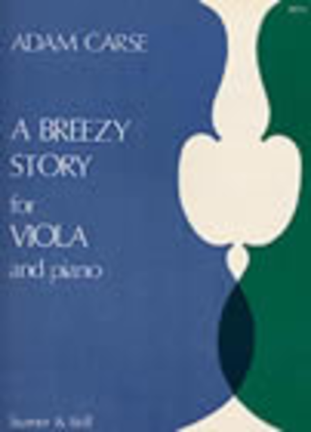 A Breezy Story for Viola and Piano