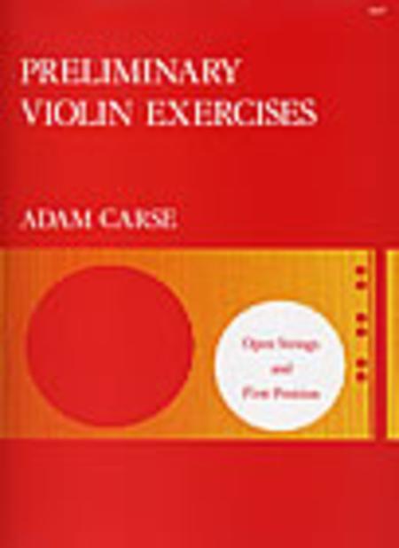 Preliminary Violin Exercises