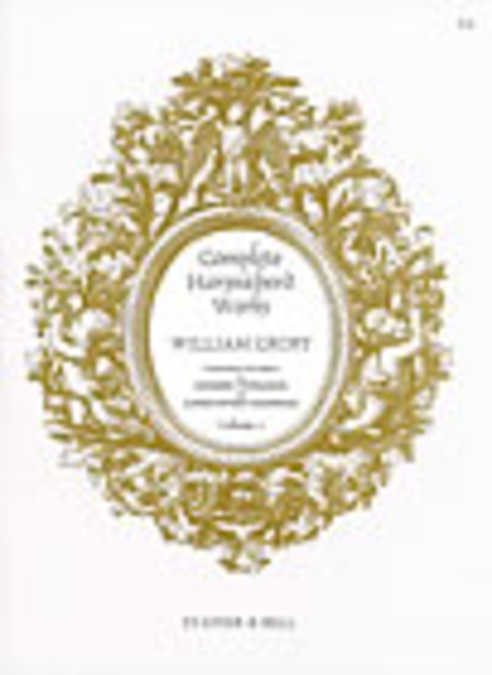 William Croft, Complete Harpsichord Music - Book 2