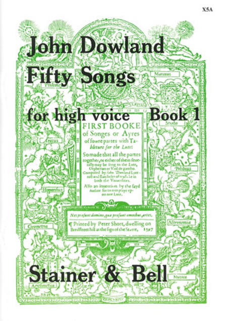 Fifty Songs - Book 1 (High Voice)