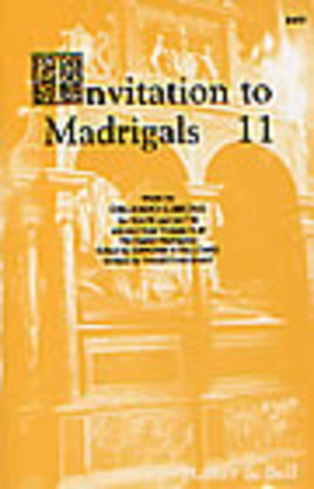 Invitation to Madrigals Book 11