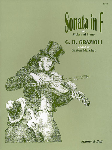 Sonata in F for Viola and Piano