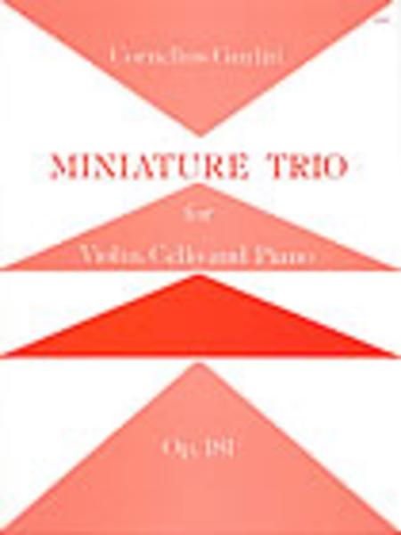 Miniature Trio, Op. 81