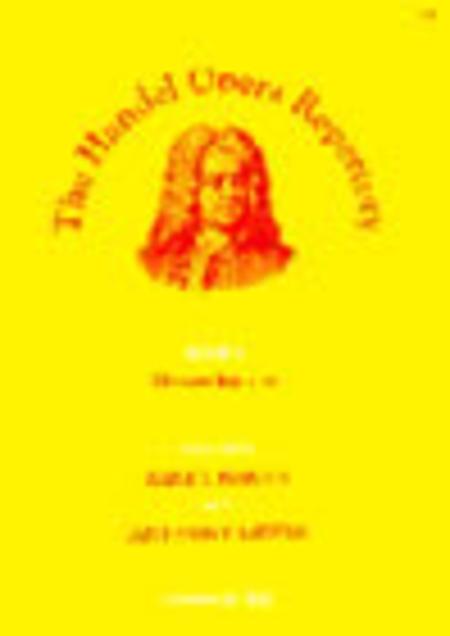 The Handel Opera Repertory - Book 1 (Mezzo-Soprano)