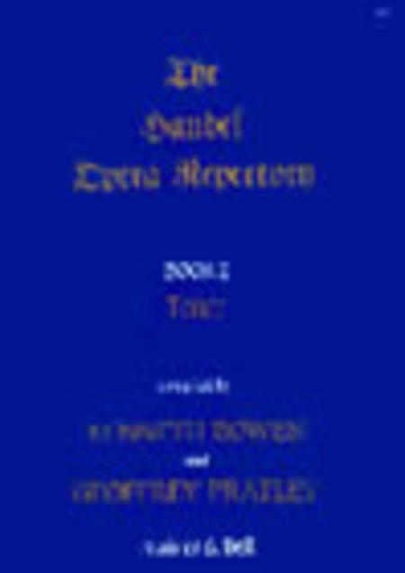 The Handel Opera Repertory - Book 2 (Tenor)
