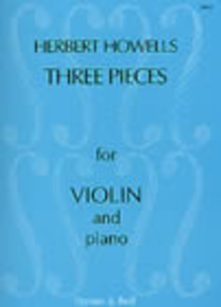 Three Pieces for Violin and Piano, Op. 28