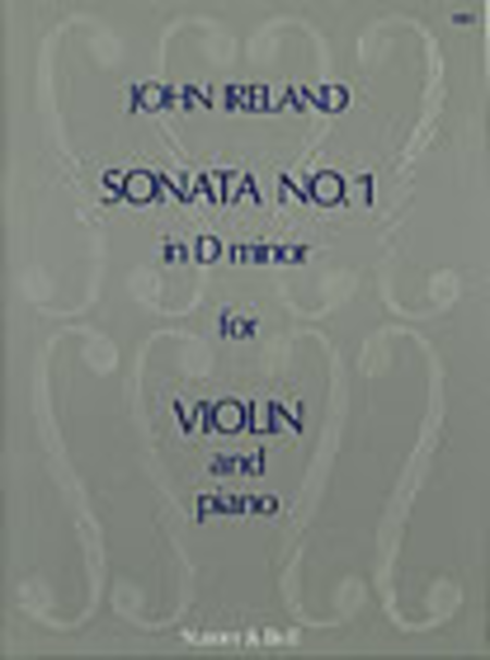 Sonata No. 1 in D minor for Violin and Piano