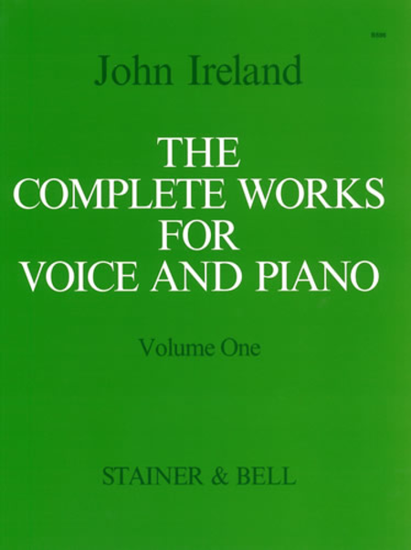 The Complete Works for Voice and Piano - Volume 1: High Voice