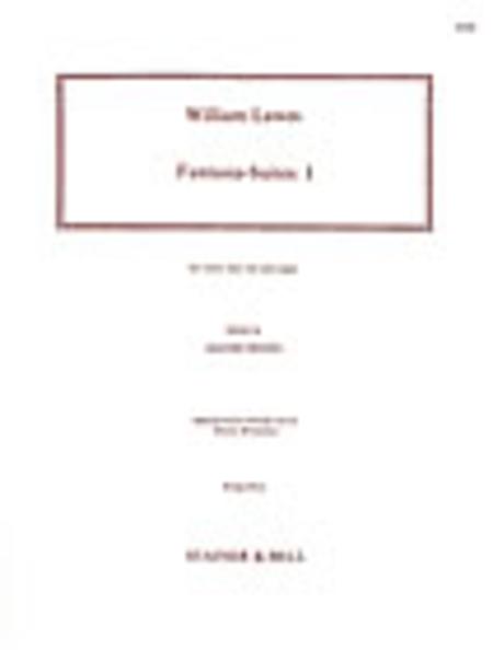 Fantasia-Suites: Set 1 (Violin, Bass Viol and Organ)