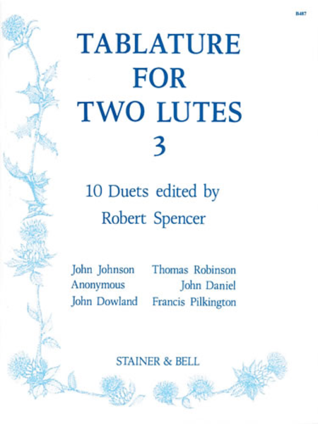 Tablature for Two Lutes: Book 3