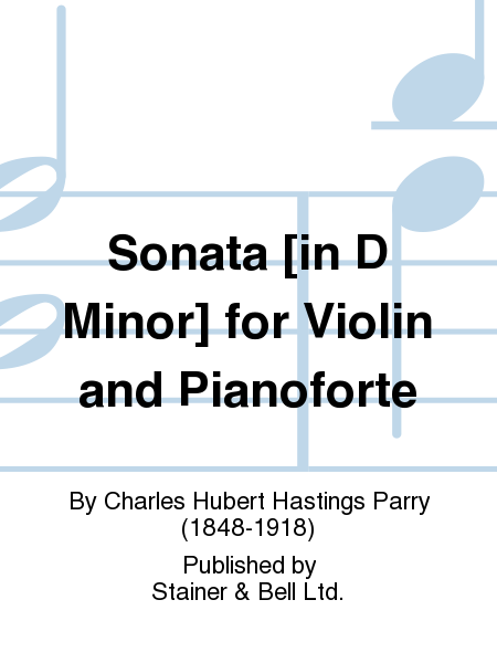 Sonata [in D Minor] for Violin and Pianoforte