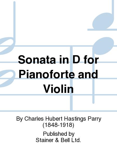 Sonata in D for Pianoforte and Violin