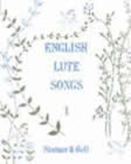 English Lute Song - Book 1