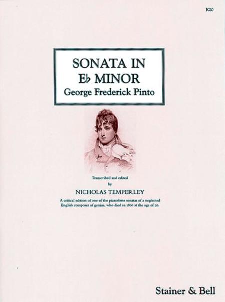 Sonata in E flat minor