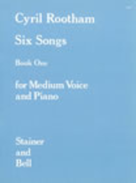 Songs, Book 1