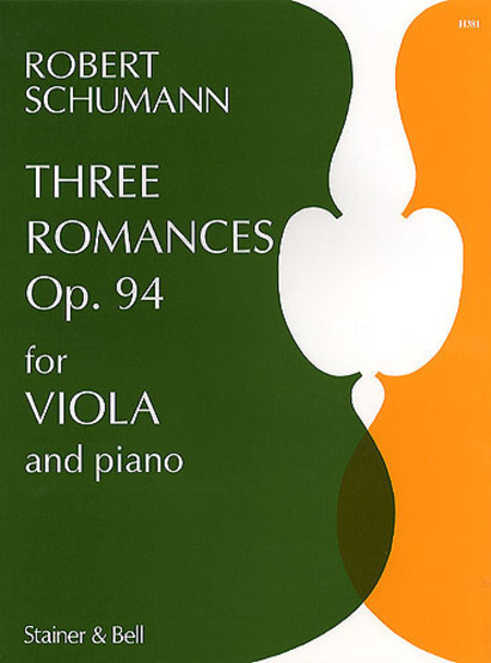 Three Romances Op. 94 for Viola and Piano