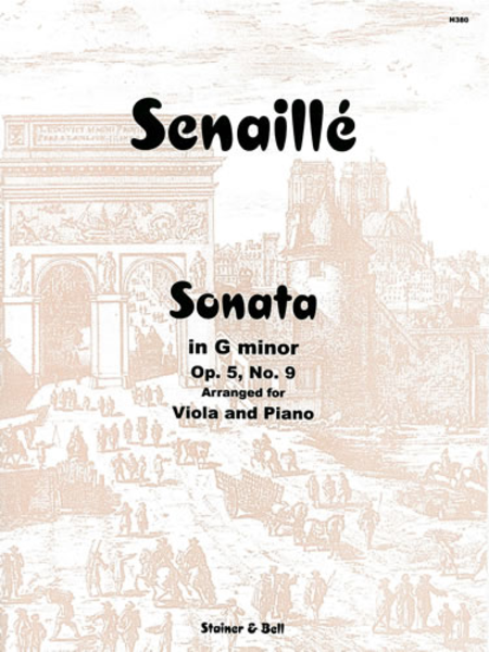 Sonata in G minor. Op. 5 No. 9 for Viola and Piano