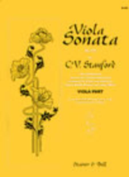 Sonata for Clarinet and Piano Op.129 (Viola arrangement)