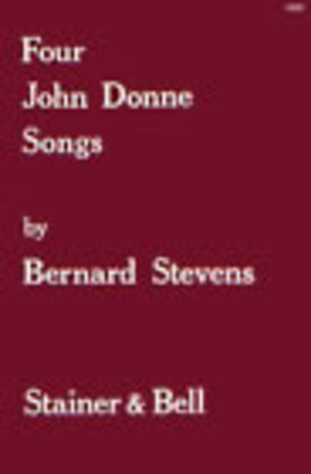 Four John Donne Songs for High Voice