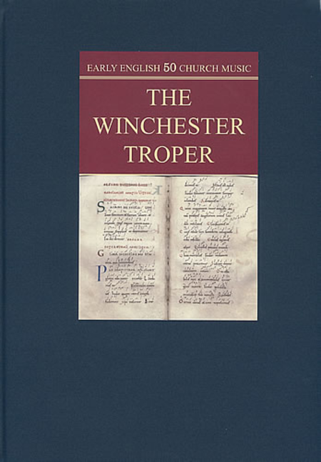 winchester troper Winchester troper 2:40 patricia kopatchinskaja (baroque violin), laurence  dreyfus (treble viol) recorded: 2014 recording venue: tritonus  musikproduktion.