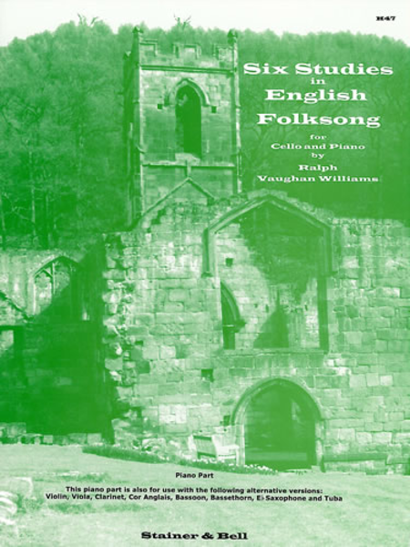 Six Studies in English Folk Song (Piano Accompaniment)
