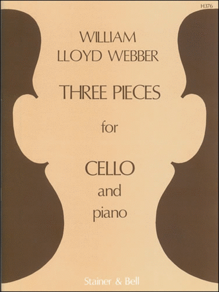 Three Pieces for Cello and Piano