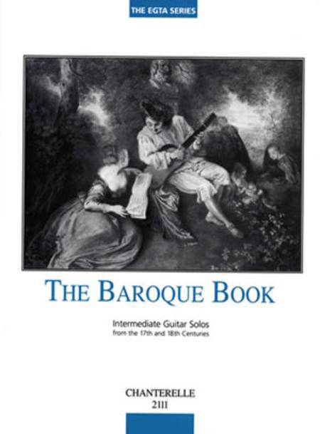 Baroque Book of Intermediate Guitar Solos 17th-18th Century