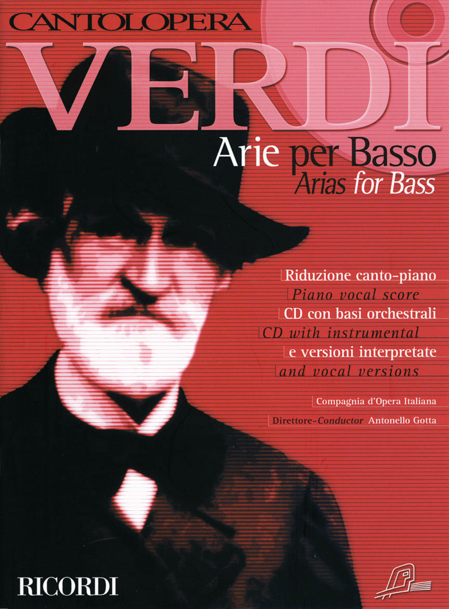 Verdi Arias for Bass