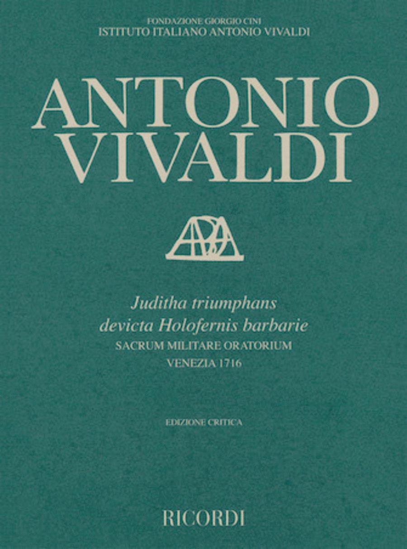 Juditha Triumphans Devicta Holofernis Barbarie RV 644