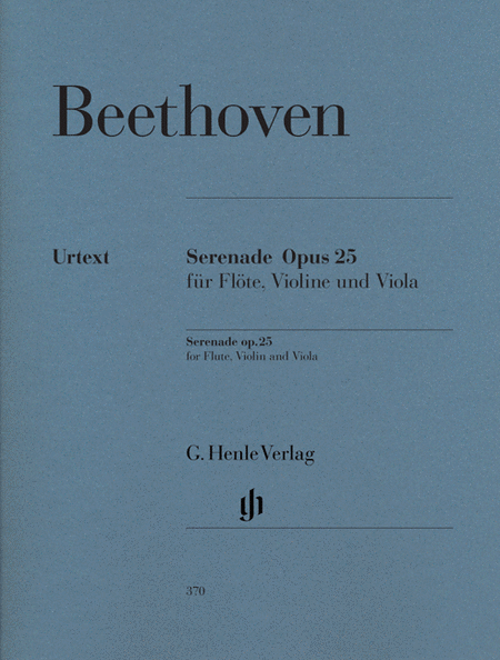 Serenade in D Major Op. 25 for Flute, Violin and Viola - Revised Edition
