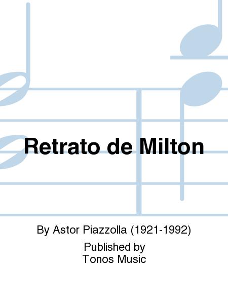 Retrato de Milton