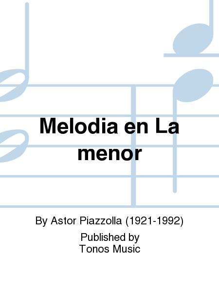 Melodia en La menor