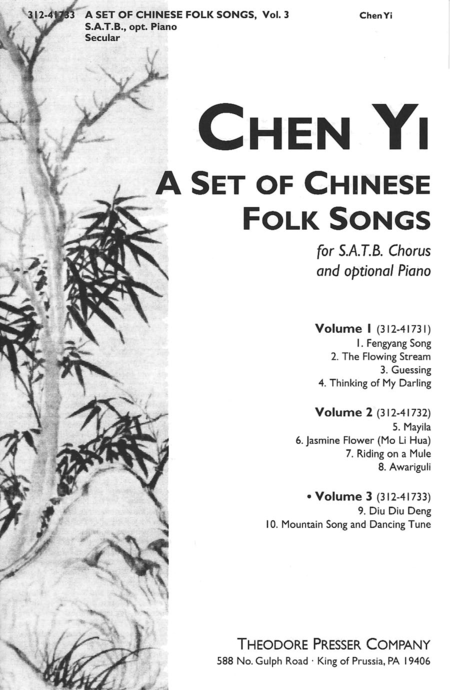 A Set of Chinese Folk Songs (Volume 3)