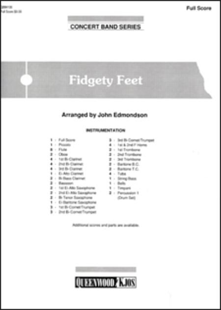 Fidgety Feet - Score