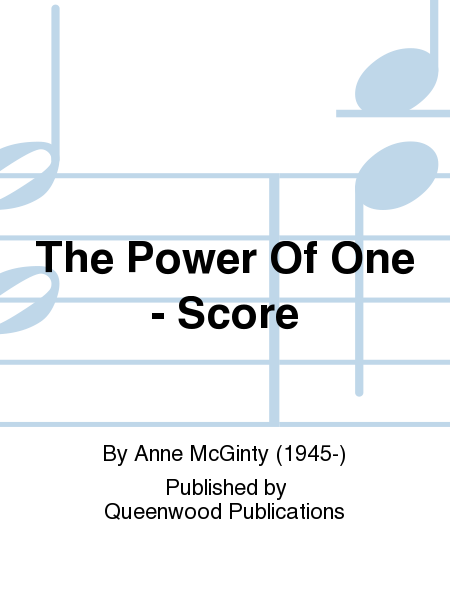 The Power Of One - Score