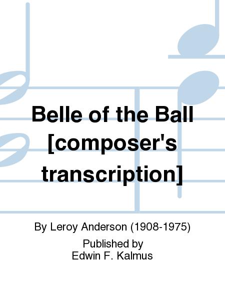 Belle of the Ball [composer's transcription]