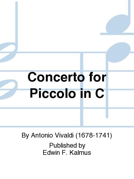 Concerto for Piccolo in C