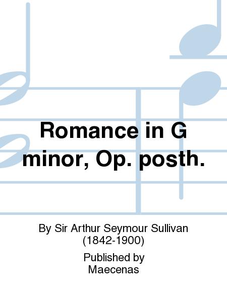 Romance in G minor, Op. posth.