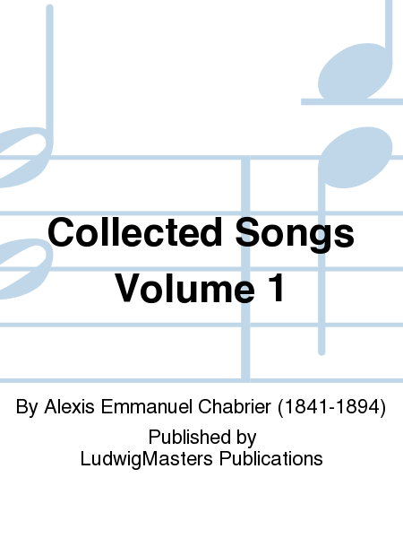 Collected Songs Volume 1