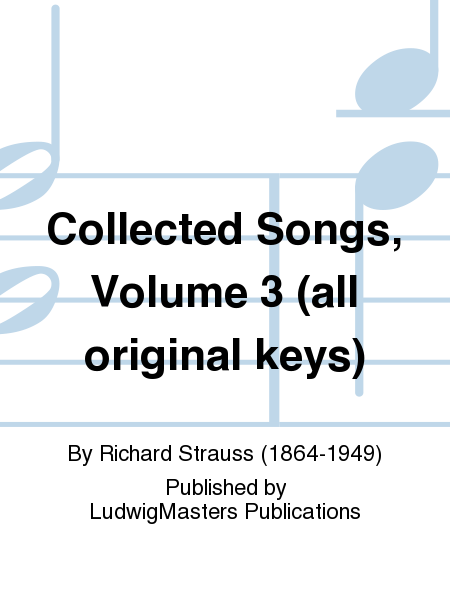 Collected Songs, Volume 3 (all original keys)