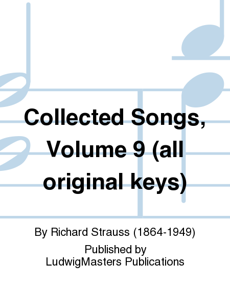 Collected Songs, Volume 9 (all original keys)